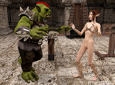 elf and goblin bondage art