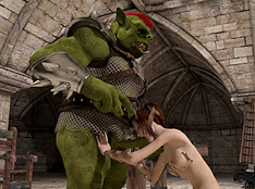 cg orc dominate elven girl